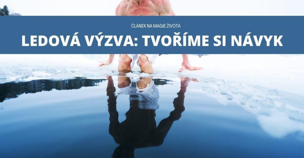 wim hof ledová voda
